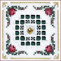 Hardanger Wreath Kit