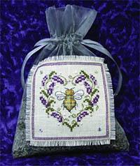 Lavender Bee Sachet Kit