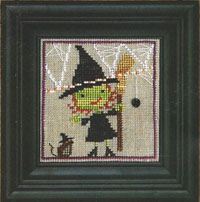 Spooky Spinners #4 - Broom Witch and Mousie