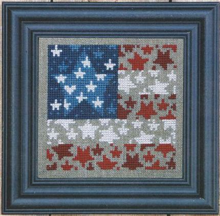 Flag of Stars Zipper