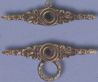 Antique Brass Bellpull Hardware