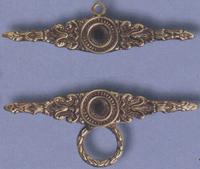 Antique Brass Bellpull Hardware