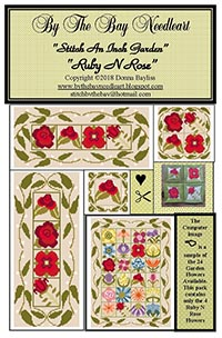 Stitch An Inch Garden - Ruby N Rose