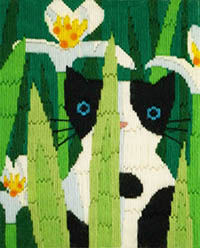 Felix Long Stitch Cats Collection Kit