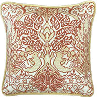 Dove & Rose Tapestry Cushion