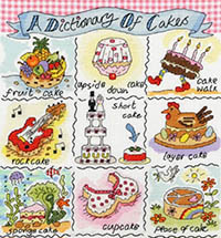 Dictionary Of Cakes Kit
