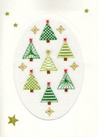 Christmas Forest Christmas Card Kit