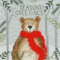 Christmas Bear Christmas Card Kit