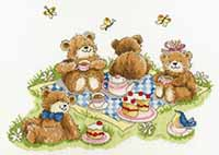 Teddy Bear Picnic Kit by Margaret Sherry