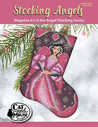 Stocking Angel #2 - Magenta in the Angel
