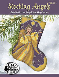 Stocking Angel #4 - Gold in the Angel