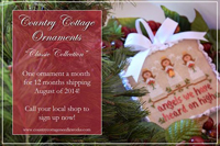 Country Cottage Ornaments - Classic Collection AUTOMATIC