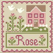 Cottage Flower - Rose