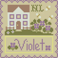 Cottage Flower - Violet