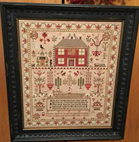Esther Iddison 1832 Sampler