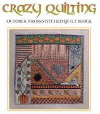 Crazy Quilting - October Block