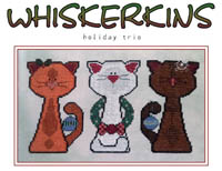 Whiskerkins - Holiday Trio