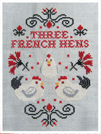 12 Days of Christmas - Three French Hens
