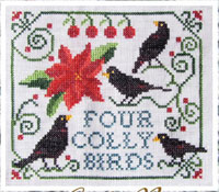 12 Days of Christmas - Four Colly Birds