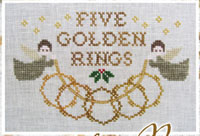 12 Days of Christmas - Five Golden Rings