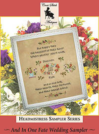 And In One Fate Wedding Sampler