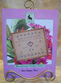 But Happy They Wedding Sampler