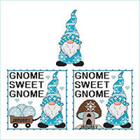 A Year Of Gnomes - January