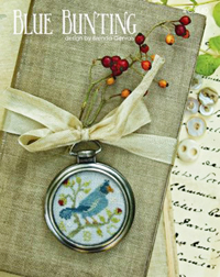 Blue Bunting Watch Frame Kit