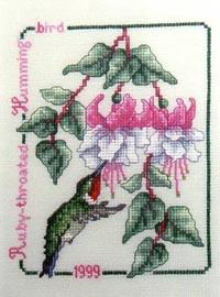 1999 Ruby-Throated Hummingbird