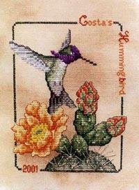 2001 Costa's Hummingbird