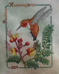 2004 Rufous Hummingbird