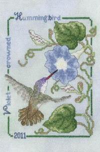 2011 Violet Crowned Hummingbird