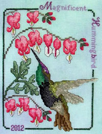 2012 Magnificent Hummingbird
