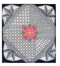 Damascus Rose Pillow