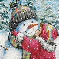 A Kiss For Snowman Kit
