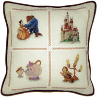 Beauty & The Beast Pillow Kit