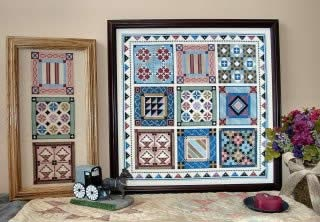 Quilt Sampler V - Amish Quilt Blocks