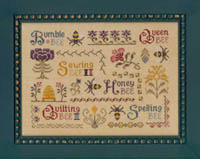 Antique Bee Sampler