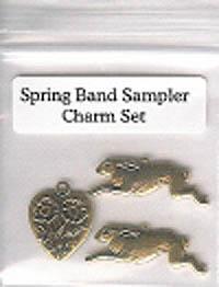 Spring Band Sampler Charm Set