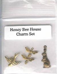 Honey Bee House Charm Set
