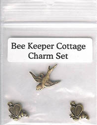 Bee Keeper's Cottage Charm Set
