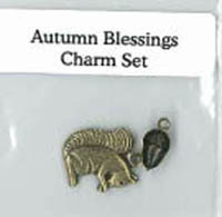 Autumn Blessings Charm Set
