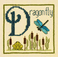 Alphabet Series - D is for Dragonfly
