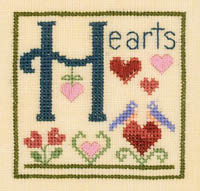 Alphabet Series - H is for Hearts