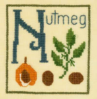 Alphabet Series - N is for Nutmeg