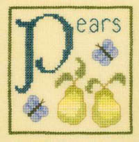 Alphabet Series - P Is For Pear