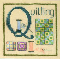 Alphabet Series - Q Is For Quilting