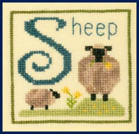 Alphabet Series - S Is For Sheep