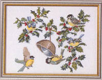 Birds and Holly Kit