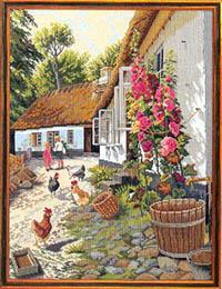 Children With Chickens Kit